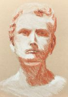 Sketch - Bust of a Man