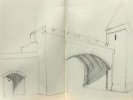 Sketch - Quebec City Gate
