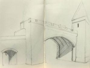 Sketch - Quebec City Gate