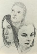 Sketch - Female Faces