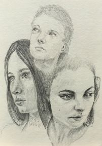 Sketch - Female Faces