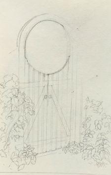 Sketch - Garden Gate