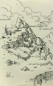 Sketch - Mountain