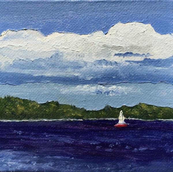 Painting - Muskoka Lake