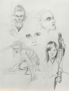 Sketch - Faces and Figures