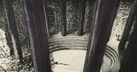 Sketch - The Cloister