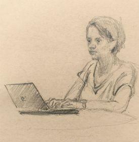 Sketch - The Typist