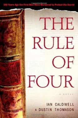 Rule of Four Cover